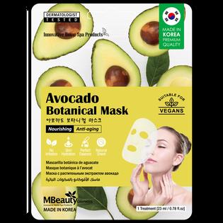 Mbeauty_Avocado_odżywcza i odmładzająca maska z awokado na płachcie, 23 g_1