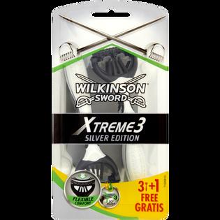 Wilkinson Sword_Xtreme 3 Silver Edition_maszynki do golenia męskie, 3+1 szt./1 opak.
