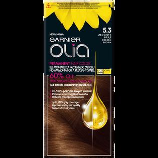 Garnier_Olia_farba do włosów 5.3 złocisty brąz, 1 opak.