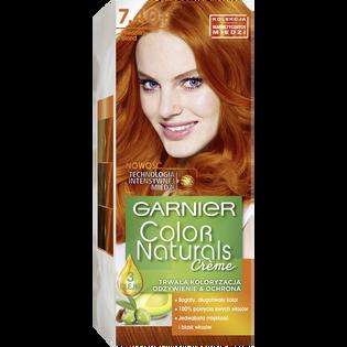 Garnier_Color Naturals Créme_farba do włosów 7.40+ miedziany blond, 1 opak.