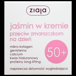 Ziaja_Jaśmin_krem do twarzy przeciw zmarszczkom na dzień 50+, 50 ml