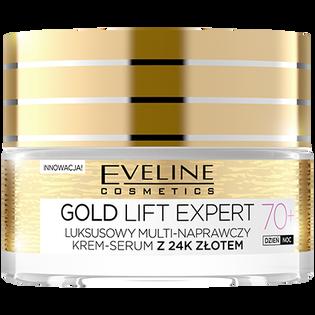 Eveline_Gold Lift Expert_krem-serum do twarzy na dzień i na noc 70+, 50 ml_1
