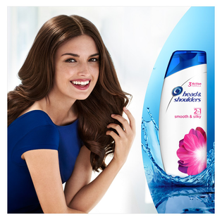 Head & Shoulders_Smooth & Silky_przeciwłupieżowy szampon do włosów, 360 ml_2