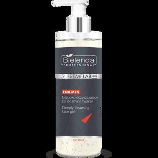 Bielenda Professional_For Men_głęboko oczyszczający żel do mycia twarzy 3w1 męski, 200 ml_1