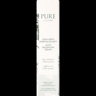 Pure By Clochee_lekki krem normalizujący do twarzy, 50 ml_2
