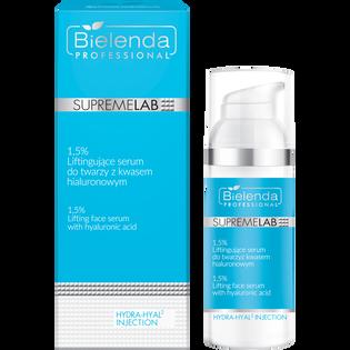 Bielenda Professional_SupremeLab_liftingujące serum do twarzy z kwasem hialuronowym, 50 ml
