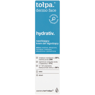 Tołpa_Dermo Face Hydrativ_nawilżający krem-żel łagodzący lekki na dzień, 40 ml_1