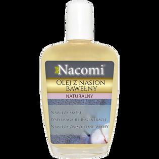 Nacomi_olej z nasion bawełny dla skóry suchej i wrażliwej do twarzy, ciała i włosów, 50 ml