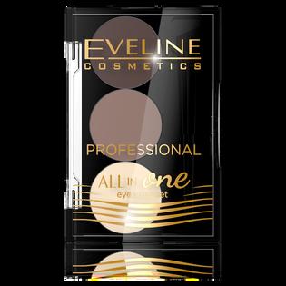 Eveline_paleta cieni do stylizacji brwi 01, 1,7 g