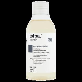 Tołpa_Estetic Oczyszczanie_micelarna woda hialuronowa do mycia twarzy i oczu, 300 ml_1