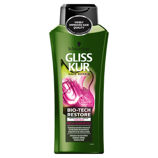 Gliss Kur_Bio-Tech Restore_szampon do włosów delikatnych, podatnych na zniszczenia, 400 ml