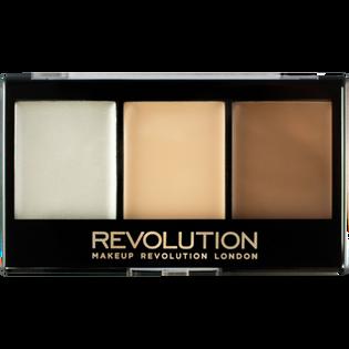 Revolution Makeup_Ultra Cream_paleta do konturowania twarzy F01, 11 g