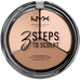 Nyx_3 Steps To Sculpt_paleta do konturowania twarzy fair, 5 g_1