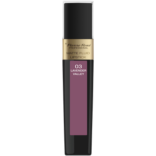 Pierre René_Matte Fluid Lipstick_pomadka w płynie do ust lavender valley 03, 6 ml