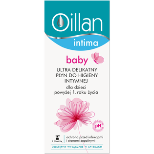 Oillan_Intima_płyn do higieny intymnej, 200 ml