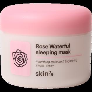 Skin79_Rose Waterful_maska do twarzy rozjaśniająco-złuszczająca całonocna, 100 ml_1