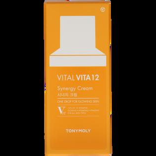 Tony Moly_Vital Vita 12 Synergy Cream_rozjaśniający krem do twarzy z witaminami, 45 ml_2