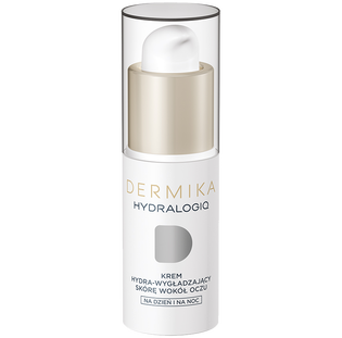 Dermika_Hydralogiq_krem hydra-wygładzający skórę wokół oczu 30+, 15 ml_1