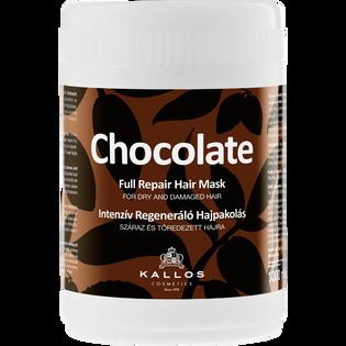 Kallos_Chocolate_maska do włosów regenerująca z czekoladą, 1000 ml