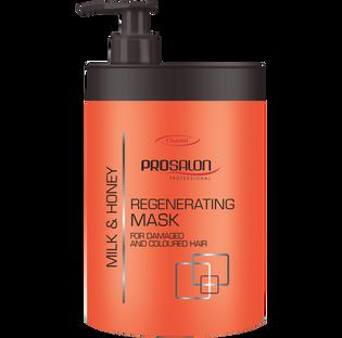 Prosalon_Mleko i Miód_regeneracyjna maska do włosów, 1000 ml
