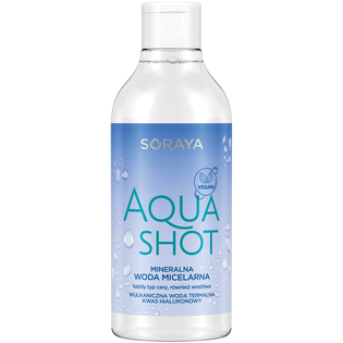 Soraya_Aqua Shot_mineralna woda micelarna, 400 ml