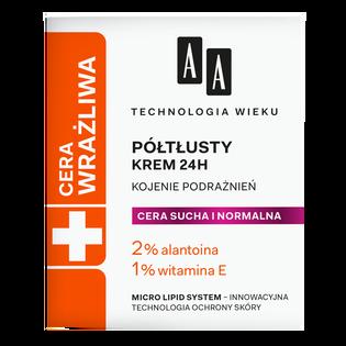 AA_Technologia Wieku_krem półtłusty do cery suchej i normalnej, 50 ml
