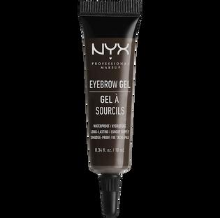 Nyx_Eyebrow Gel_żel do stylizacji brwi black, 10 ml