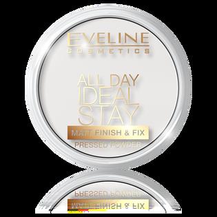 Eveline Cosmetics_All Day Ideal Stay_utrwalający puder do twarzy matt 60, 14 ml