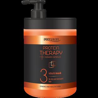 Prosalon_Protein Therapy_maska do włosów odbudowująca, 1000 ml