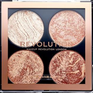Revolution Makeup_Cheek Kit Don't Hold Back_paleta do konturowania twarzy, 3 g