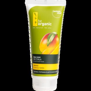Be Organic_Mango & Masło shea_balsam do ciała, 200 ml