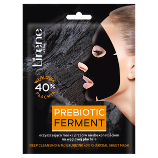 Lirene_Prebiotic Ferment_prebiotyczna maska do twarzy w płacie, 10 ml