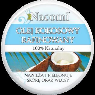 Nacomi_rafinowany olej kokosowy do ciała, 100 ml