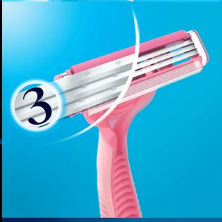Gillette_Simply Venus 3_maszynki do golenia damskie, 4 szt./1 opak._6