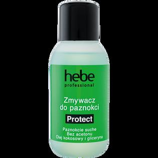 Hebe Professional_Protect_bezacetonowy zmywacz do paznokci naturalnych i sztucznych, 150 ml