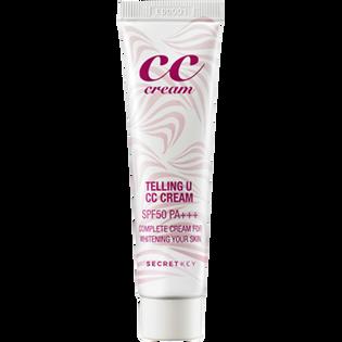 Secret Key_CC Telling U Cream_krem CC z filtrem SPF 50 do twarzy, 30 ml