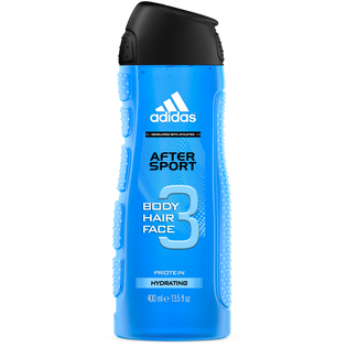 Adidas_After Sport_nawilżający żel pod prysznic męski, 400 ml