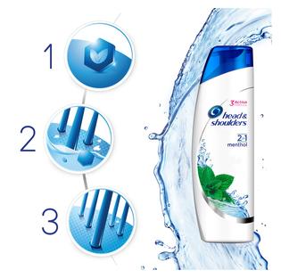 Head & Shoulders_Menthol Fresh 2w1_przeciwłupieżowy szampon do włosów, 225 ml_2