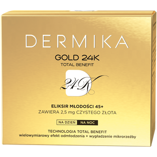 Dermika_Gold 24k_krem do twarzy 45+, 50 ml_2
