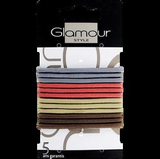 Glamour_gumki do włosów, 12 szt./1 opak._3