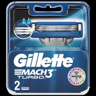 Gillette_Mach3 Turbo_wkłady do maszynki do golenia, 2 szt./1 opak.