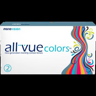 All Vue_Colors Brown_soczewki, moc -1.50, 2 szt./1 opak.
