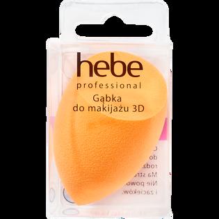 Hebe Professional_Pomarańczowa_gąbka do makijażu 3D pomarańczowa, 1 szt._2