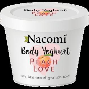 Nacomi_jogurt do ciała o zapachu brzoskwini, 180 ml