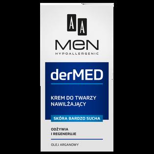 AA_Men DerMed_krem nawilżający do twarzy, 50 ml