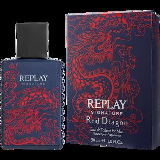 Replay_Signature Red Dragon_woda toaletowa męska, 30 ml