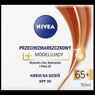 Nivea_Przeciwzmarszczkowy_przeciwzmarszczkowy krem modelujący do twarzy na dzień 65+ SPF 30, 50 ml