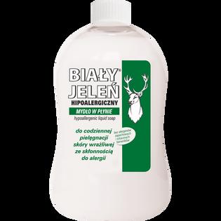 Biały Jeleń_Hipoalergiczny_mydło w płynie, 500 ml