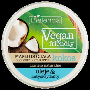 Bielenda_Vegan Friendly_kremowe masło do ciała z olejkiem kokosowym, 250 ml_1