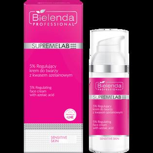 Bielenda Professional_SupremeLab_5% regulujący krem do twarzy z kwasem azelainowym, 50 ml